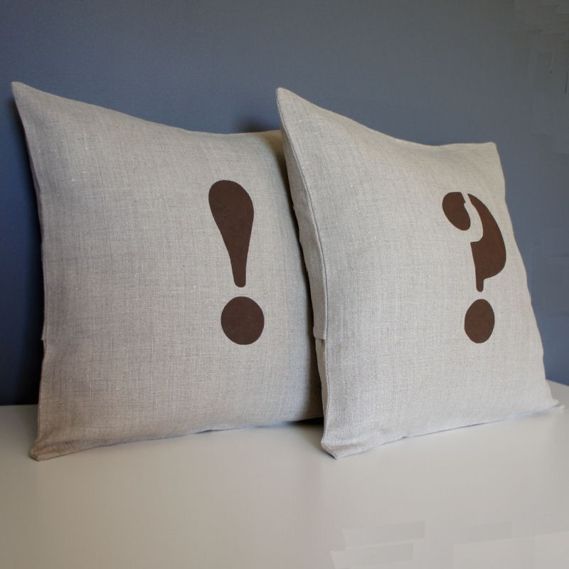COUSSIN LIN POINT D'EXCLAMATION