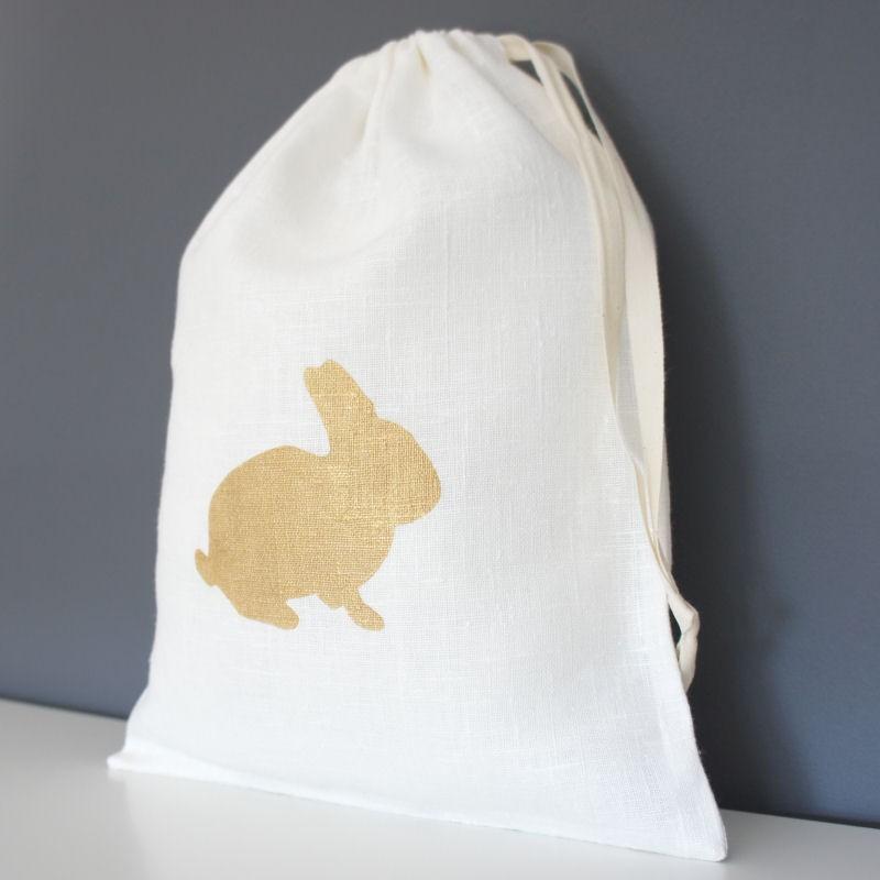 sac à doudou lapin