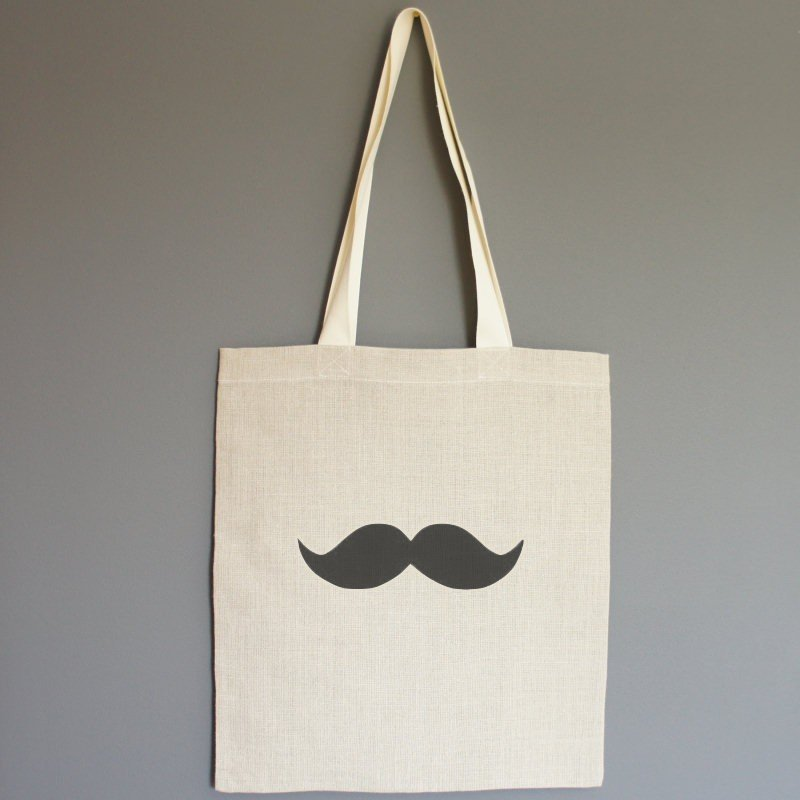 TOTE BAG MOUSTACHE