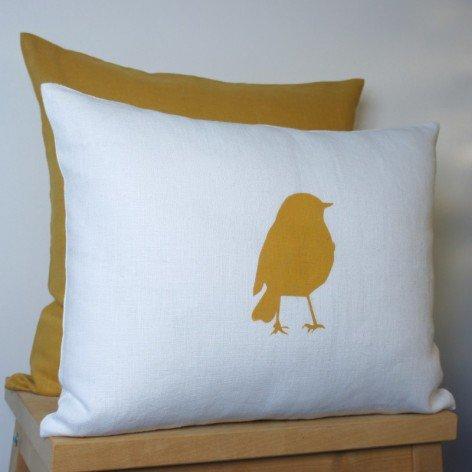 Coussin oiseau