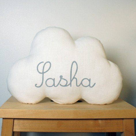 COUSSIN NUAGE PERSONNALISE