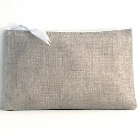 Pochette pour sac à main en lin