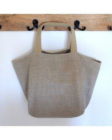 sac cabas lin femme