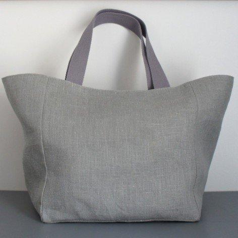 sac cabas femme lin