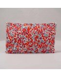 POCHETTE LIBERTY WILTSHIRE ROUGE