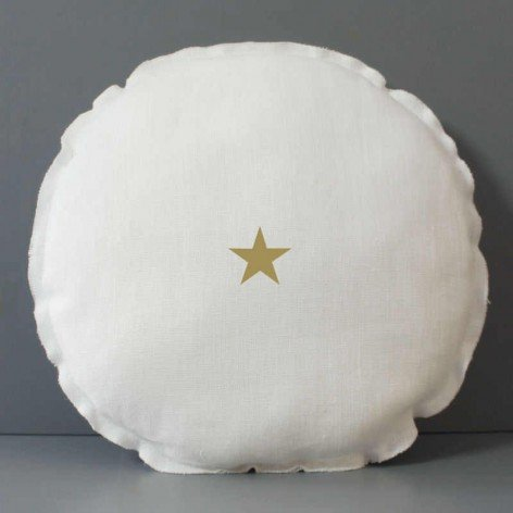 coussin-rond-etoile-doree