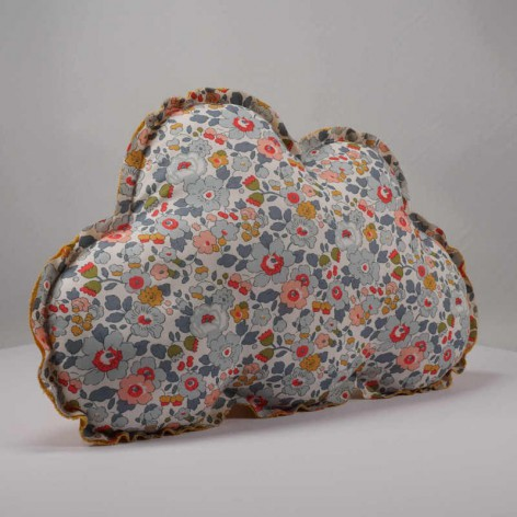 coussin nuage liberty betsy