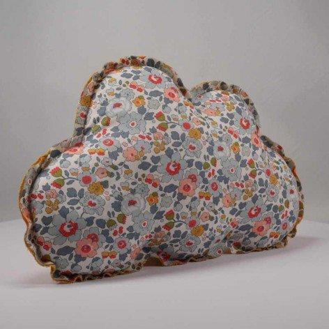 coussin nuage liberty betsy pour chambre enfant