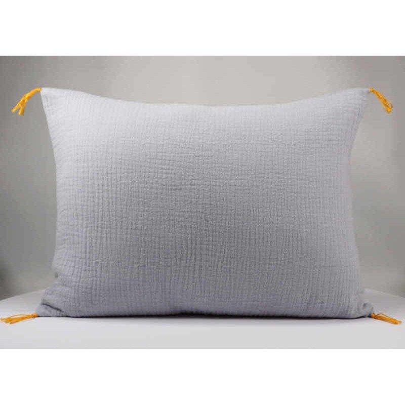 Coussin rectangulaire gaze de coton