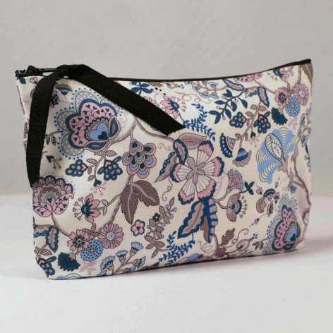 Trousse maquillage en Liberty Mabelle