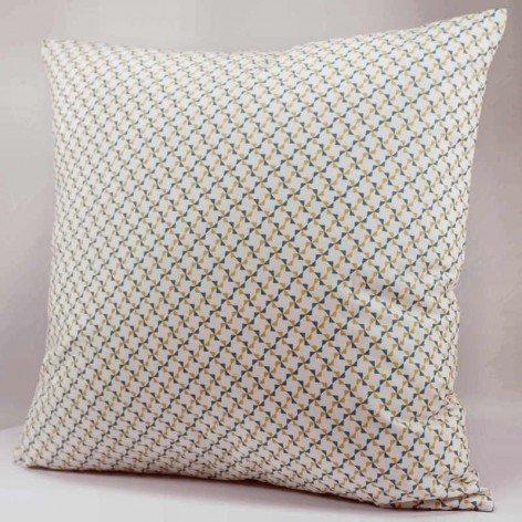 coussin décoratif motif géométrique moulins