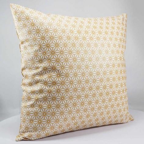 Coussin décoratif motif géométrique japonais