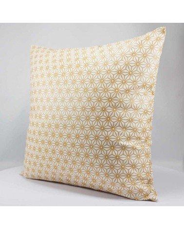 housse de coussin 40x40 cm motif géométrique japonais