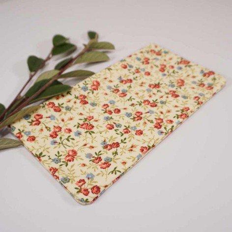 Trousse motif fleurs