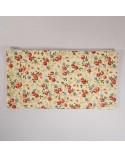 pochette en tissu motif fleurs