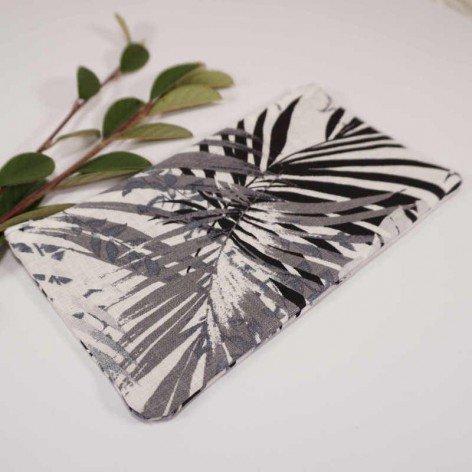 pochette motif palmier