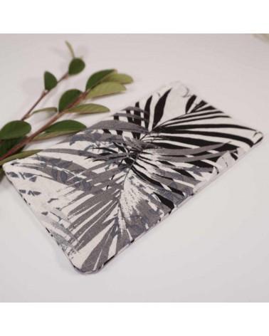 trousse maquillage tissu motif palmier