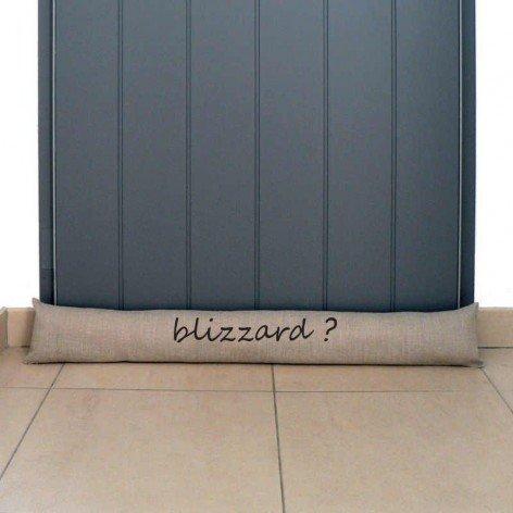 Boudin de porte Blizzard sur mesure