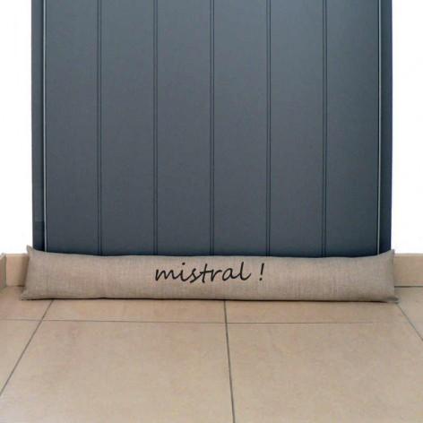 Boudin de porte Mistral sur mesure