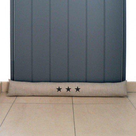 Boudin de porte étoiles sur mesure