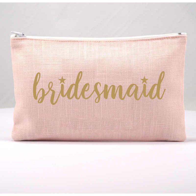 Cadeau demoiselle d'honneur Pochette Bridesmaid