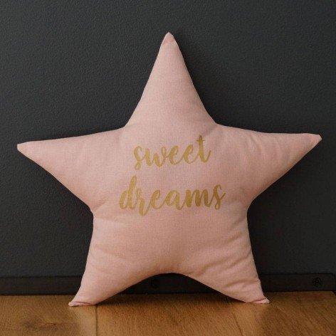 Coussin étoile sweet dreams
