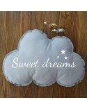 Coussin enfant nuage sweet dreams