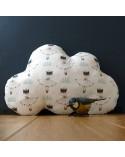 Coussin nuage chambre bébé déco fille