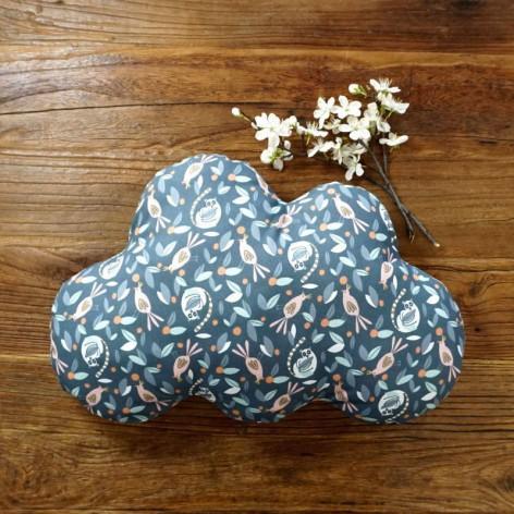 Coussin nuage - motif animaux
