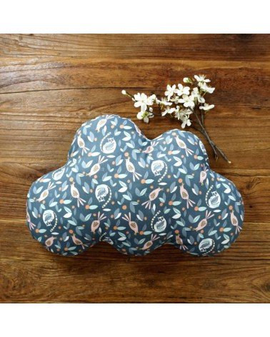Coussin nuage - motif animaux