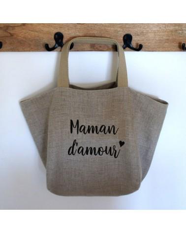 sac cabas maman d'amour cadeau fête des mères