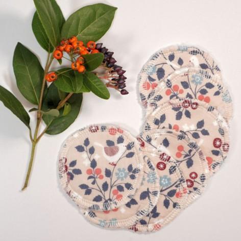 disques démaquillants réutilisables lavables bambou