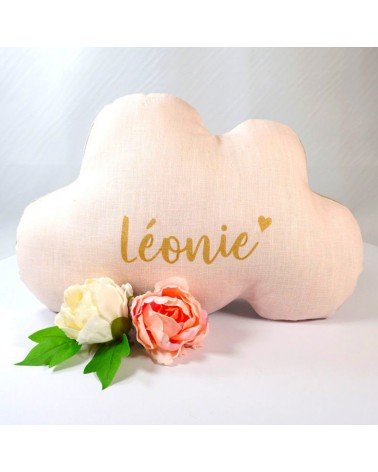 cadeau naissance personnalisé - coussin nuage
