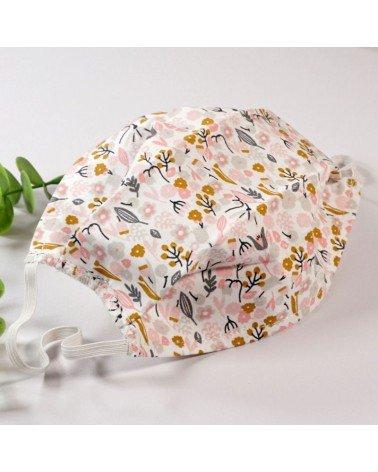Masque de protection tissu lavable, masque barrière 2 épaisseurs AFNOR, achat, vente