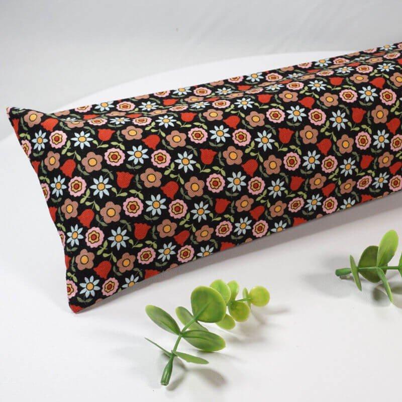 Boudin de porte 70 cm en coton fleuri