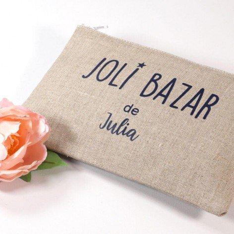 pochette personnalisée bazar