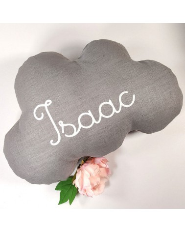 coussin nuage prénom personnalisé naissance