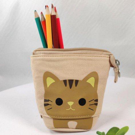 trousse télescopique chat coloris sable