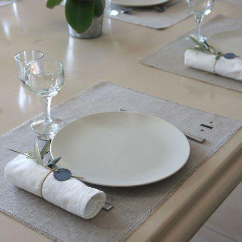 sets de table en lin