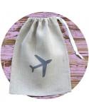 sac pochon avion