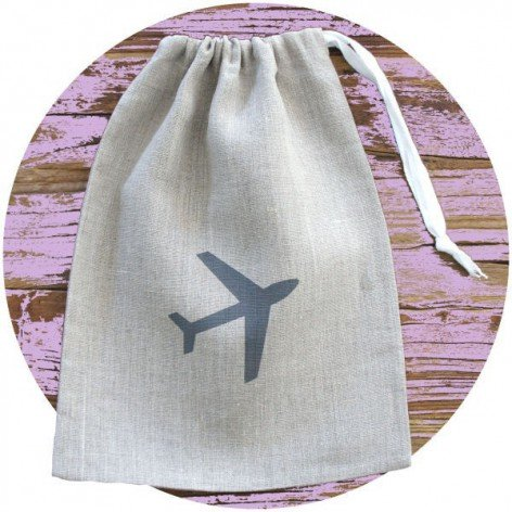 BAG PLANE NATUREL