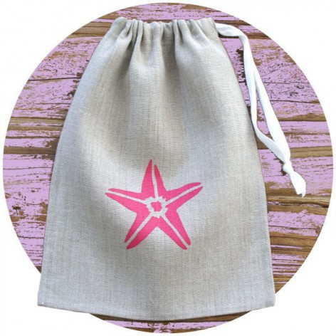 BAG STARFISH NATUREL