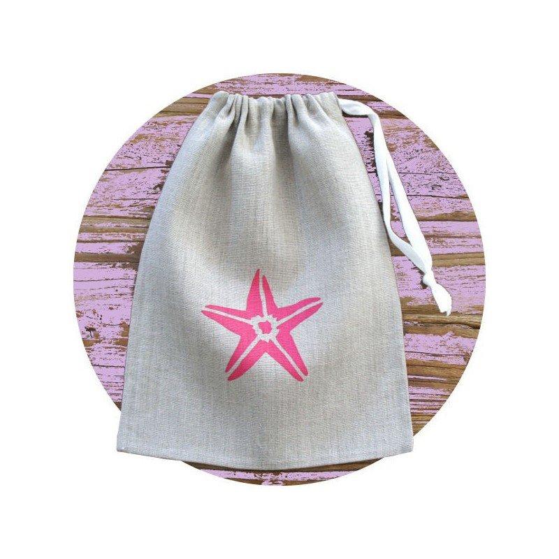 sac pochon étoile de mer