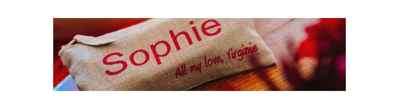 Pochettes en lin, pochette de sac, trousse à maquillage